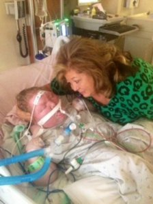 Amanda Lane  in Hospital