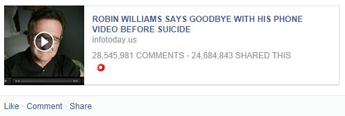 robin williams phone scam