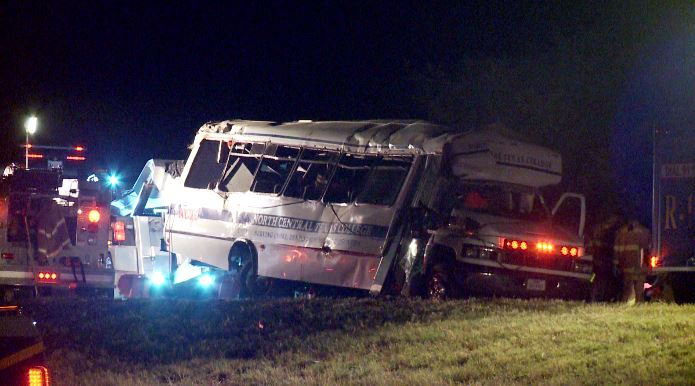 Four NCTC softball team members killed in deadly bus crash