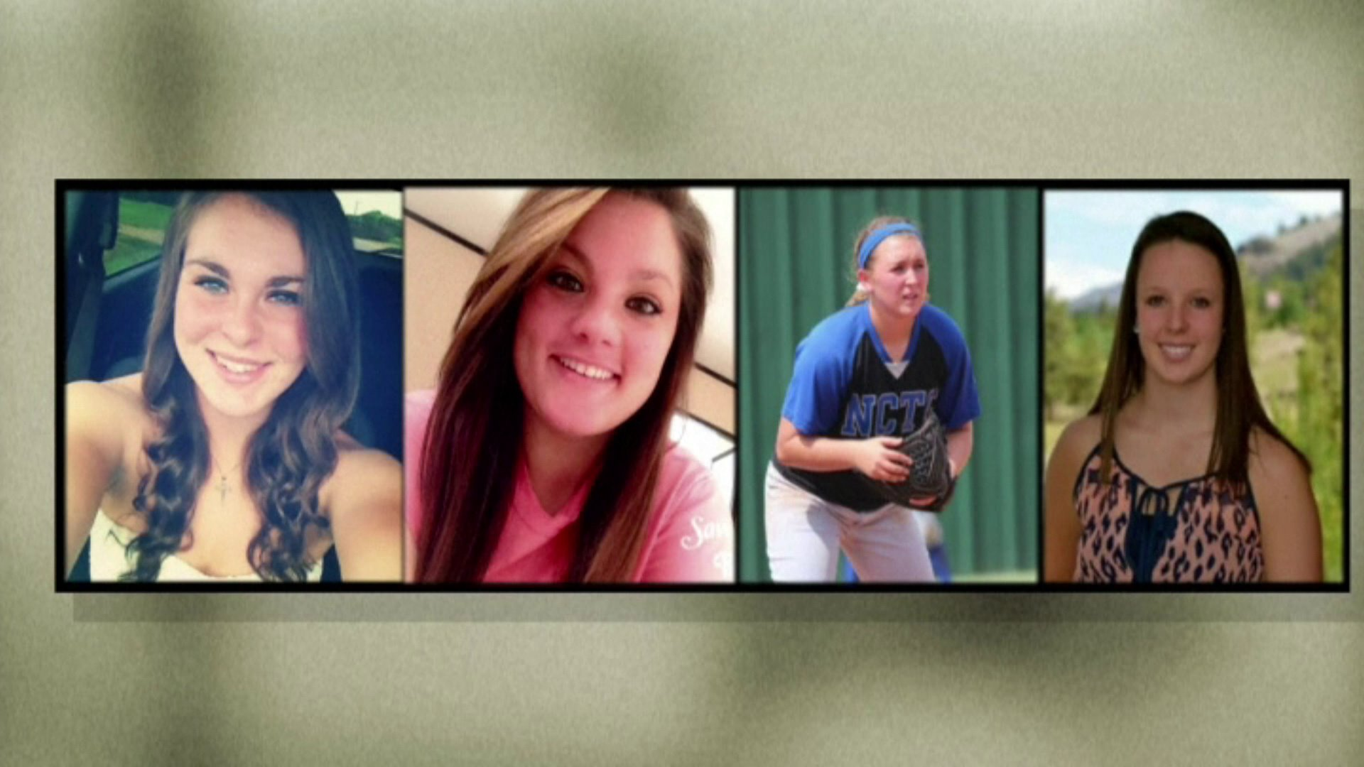 Jaiden Pelton, 20, Brooke Deckard, 20, Katelynn Woodlee, 18, and Megan Richardson, 19, were all killed in the crash.
