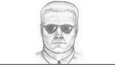 Sketch released of man sought for killing a peacock in the Palos Verdes Peninsula area. (Credit: spcaLA via KTLA)