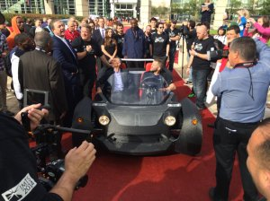 World's First 3D Printed Electric Car