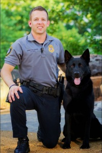 K9 Kye and Sgt. Stark