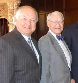 Former Mayors Ron (left) and Jim Norick. Courtesy okc.gov.