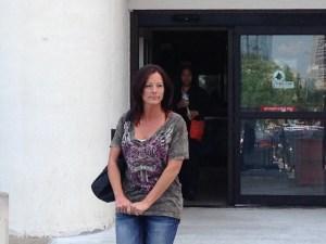 Betz leaving jail
