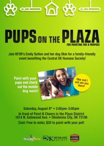 Pups on the Plaza