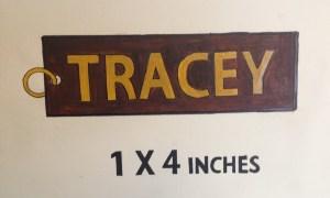 Police sketch of Tracey Neilson's key chain. OSBI Forensic Artist Harvey Pratt