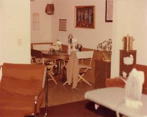 Courtesy OSBI. Crime Scene photograph from 1981. Tracey Neilson's appartment