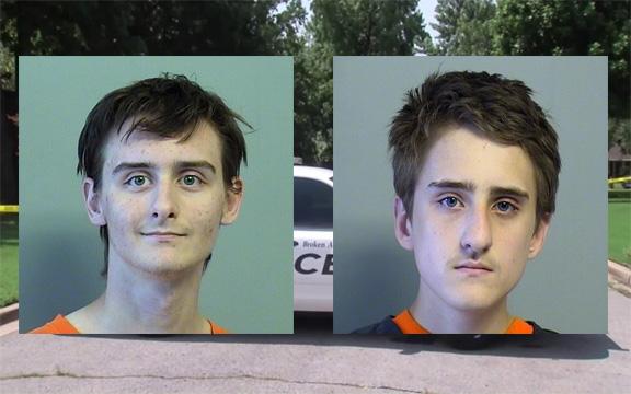 Robert Bever, 18, and Michael Bever, 16