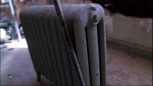 Old radiators sat in senate offices this entire time, but cabinets were built to hide them.