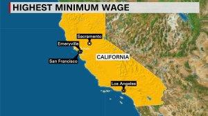 Highest Minimum Wage