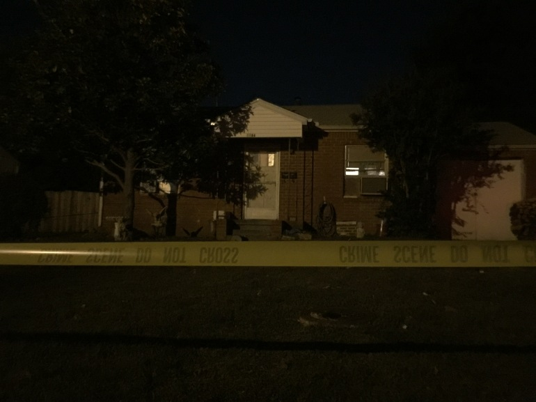 House of the suspect arrested in Kirsten Hatfield case