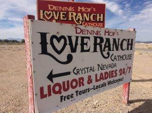 Lamar Odom was found unresponsive at Love Ranch, a legal brothel in Crystal, Nevada. Credit:John Torigoe/CNN