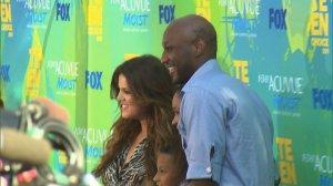 Lamar Odom and Khloe Kardashian, Credit: CNN