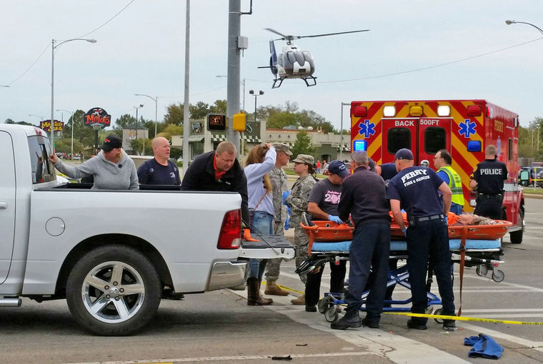 OSU Homecoming tragedy (Photos: David Bitton/Stillwater News Press)