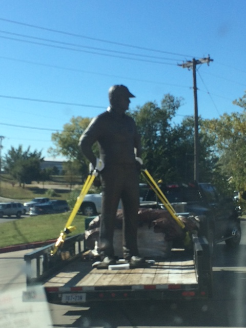 Bob Stoops statue