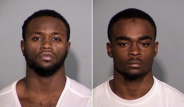 Larry Taylor (left) and Jalen Watson (right) have been charged with murder in the death of 28-year-old Amanda Blackburn