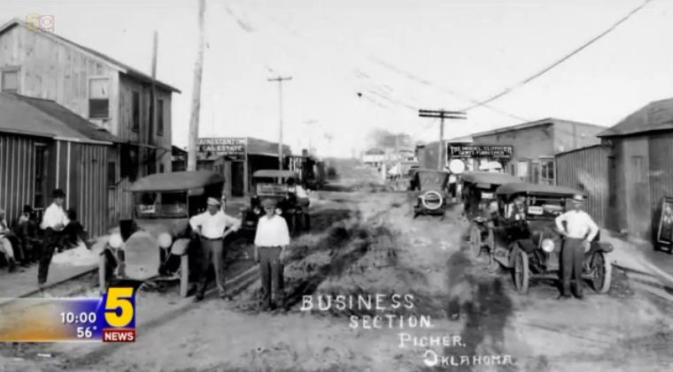 Picher was a boom town around the time of World War I. Source: KFSM