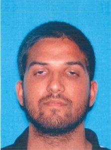 Syed Farook driver's license. Credit:California DMV