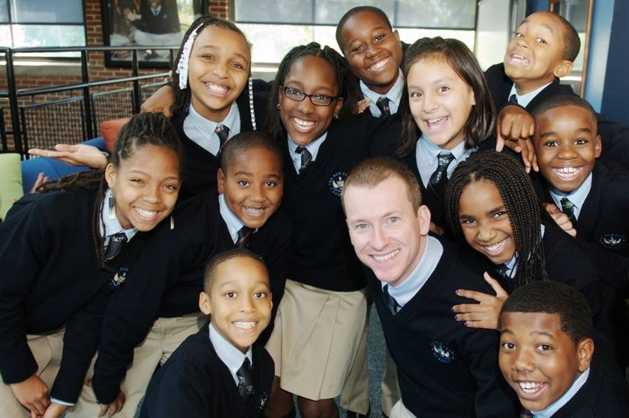 Caption:Ron Clark is an award-winning teacher who started his own academy in Atlanta. He wants parents to trust teachers and their advice about their students Credit:	Ron Clark - fsbassociates.com via CNN