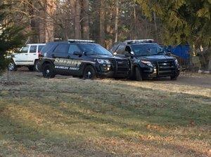 Kalamazoo County Sheriff removing items from Jason Brian Dalton's home