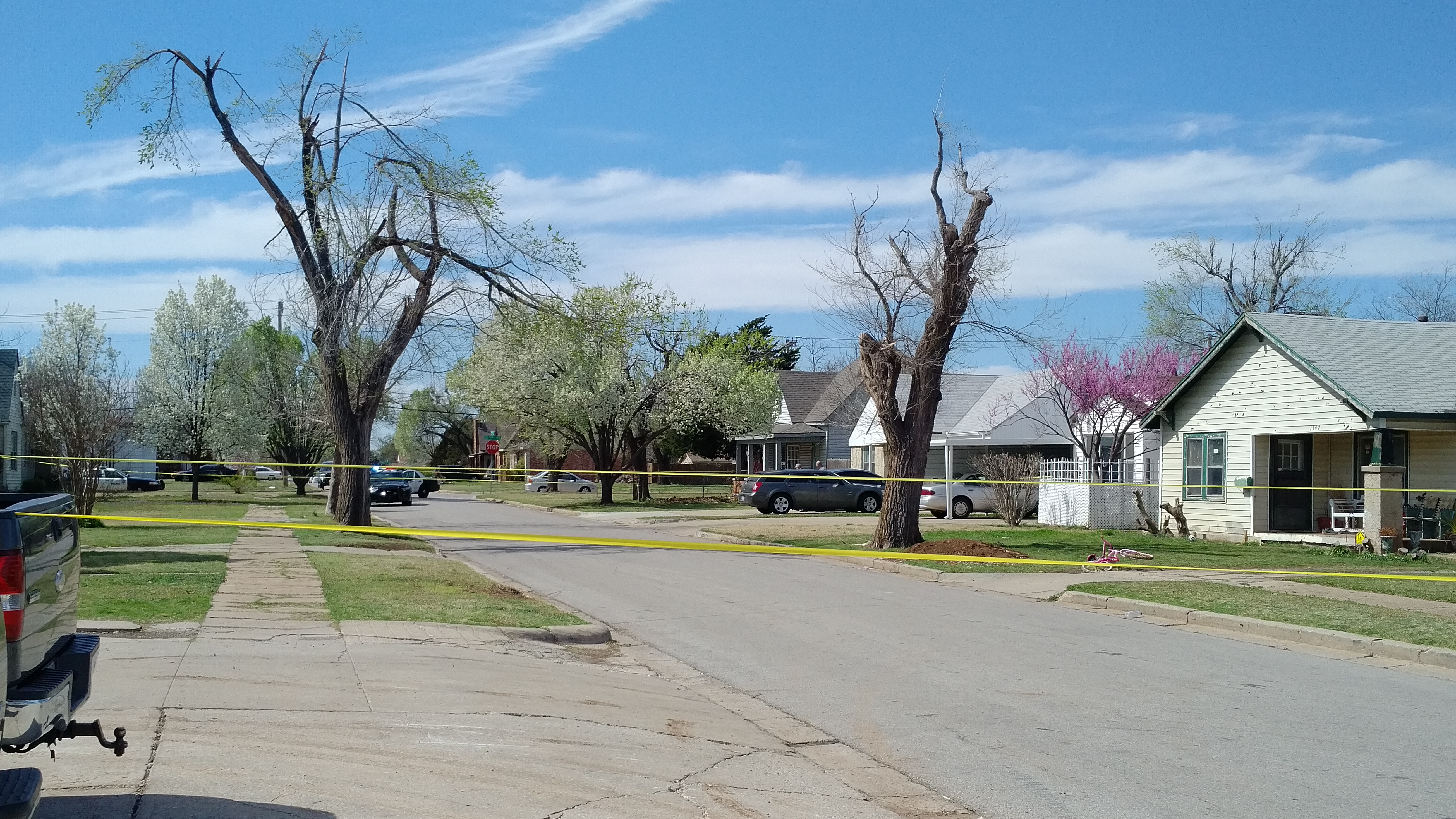 Scene of shooting in NW Oklahoma City
