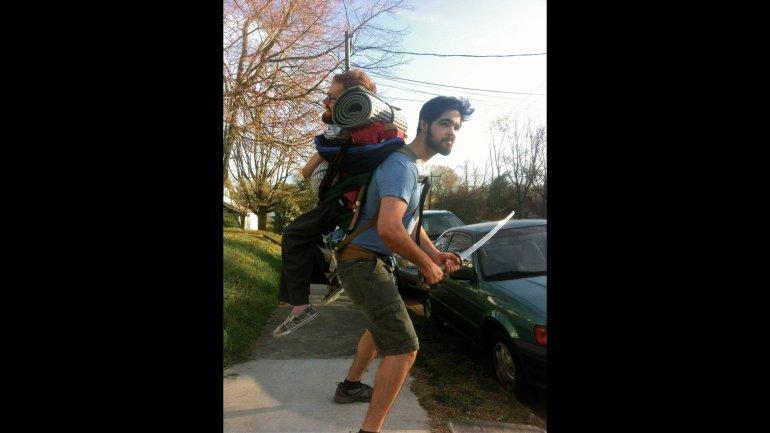 Kevan Chandler Backpacker