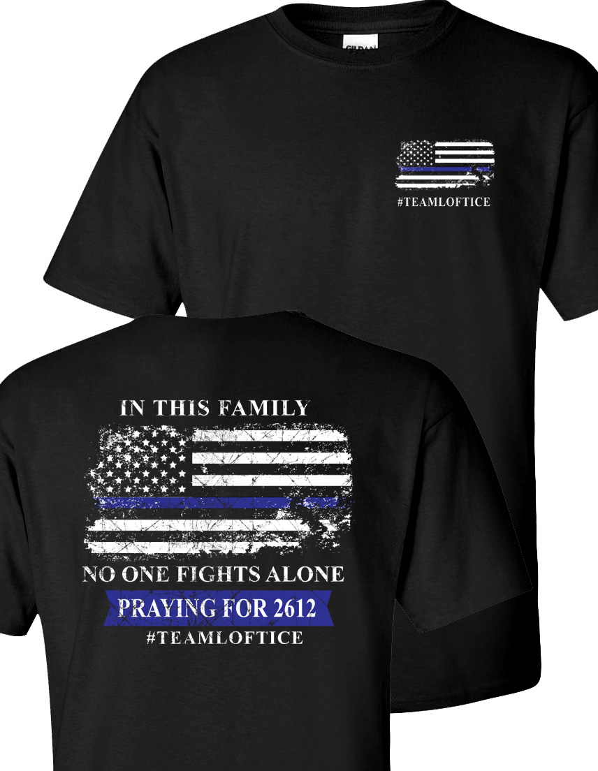 Team Loftice t-shirts for sale to support Deputy Corey Loftice.