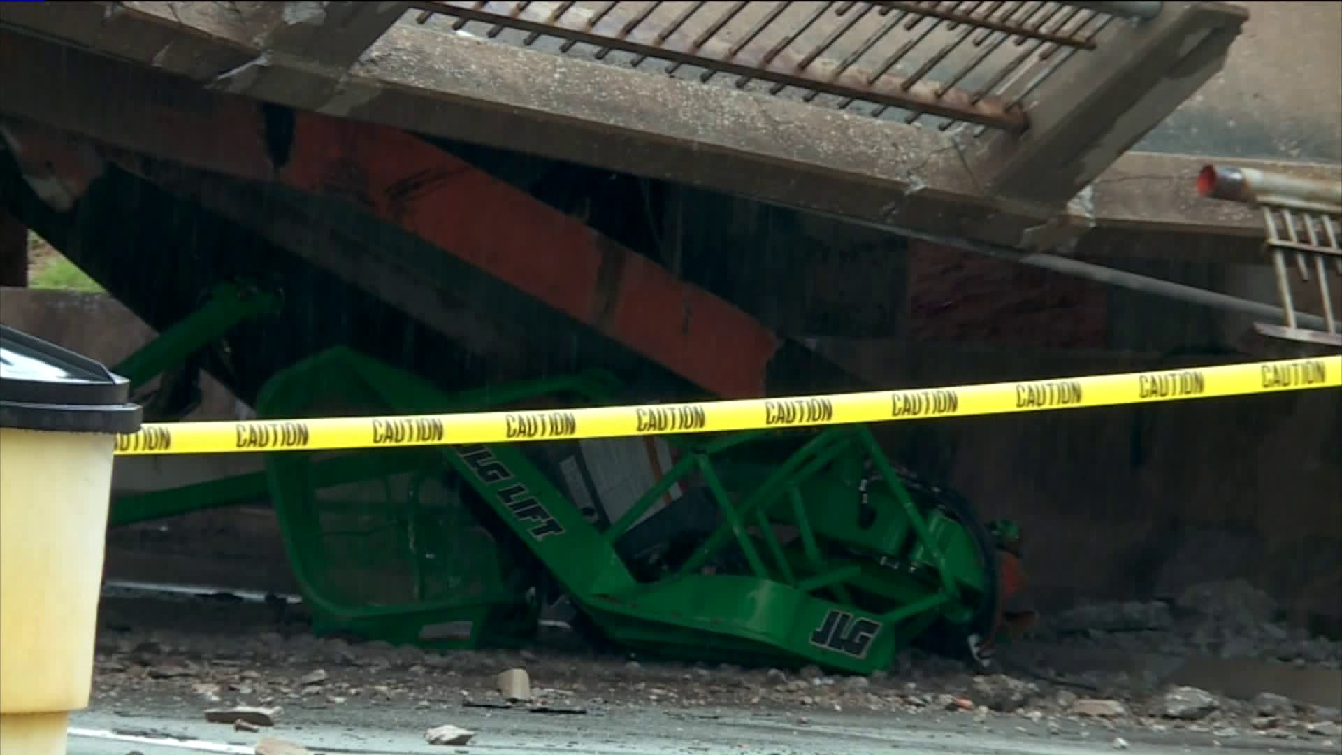 May Ave/NW Expressway bridge collapse