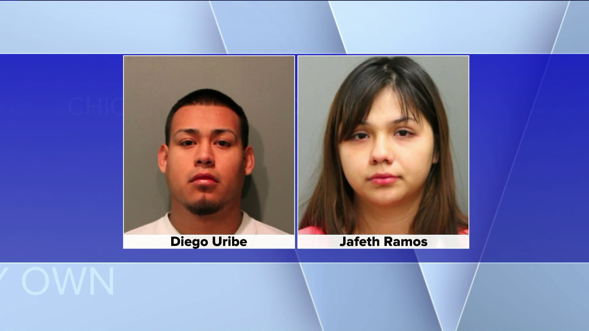 Police have charged 22-year-old Diego Uribe-Cruz and his girlfriend 19-year-old Jafeth Ramos with six counts of first degree murder.