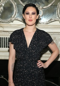 Rumor Willis poses for a photo after her performance at Cafe Carlyle on April 5, 2016 in New York City (Photo by Jemal Countess/Getty Images)