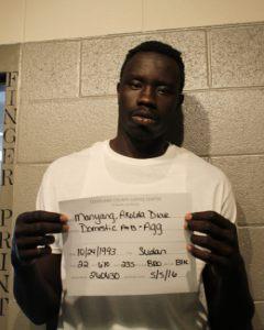 Akolda Manyang. Credit: Cleveland County Sheriff