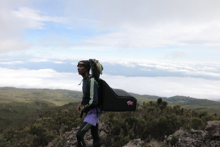 Pizza Hut delivers to top of Mount Kilimanjaro