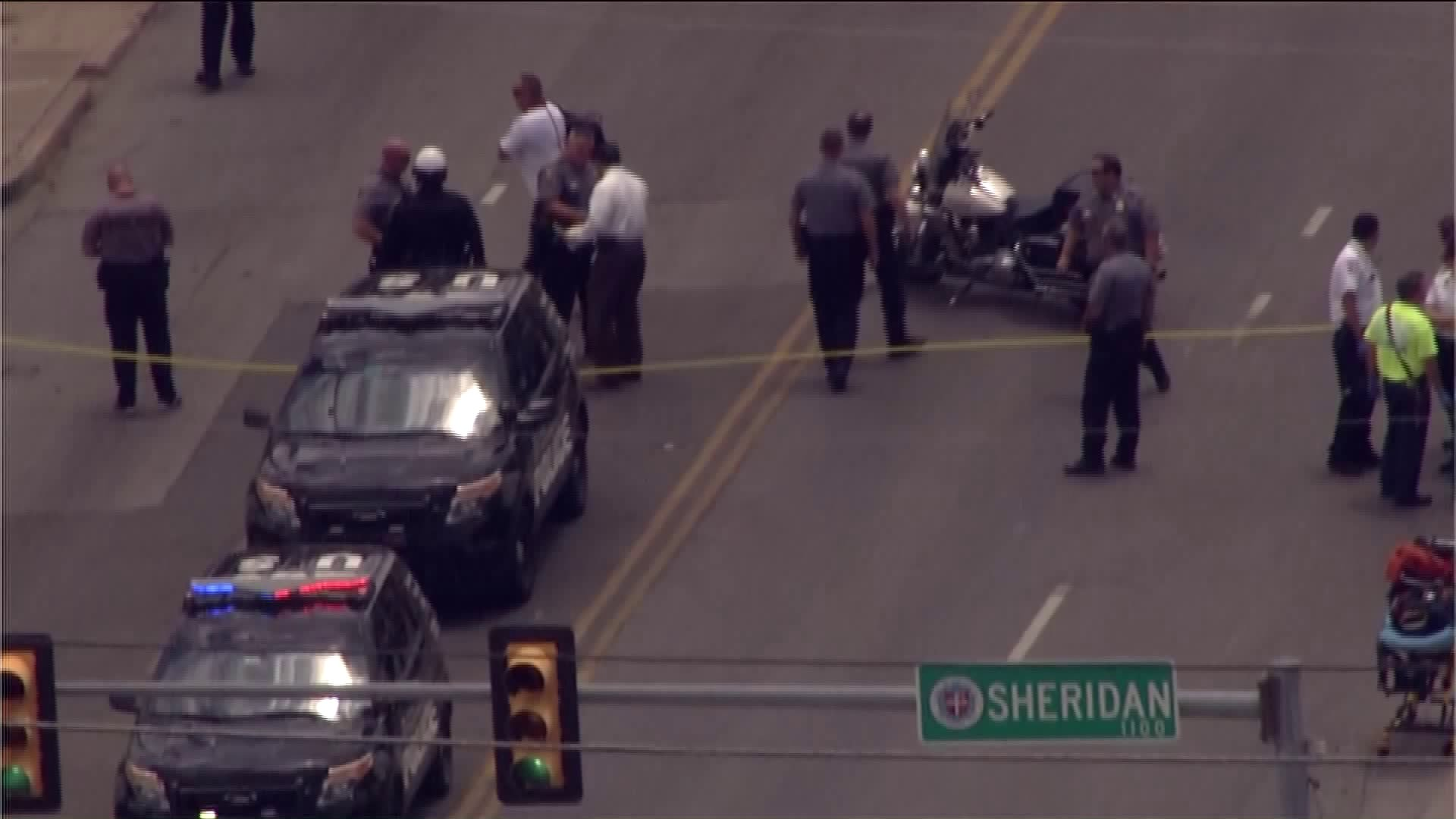 Officer involved shooting near Sheridan and Western