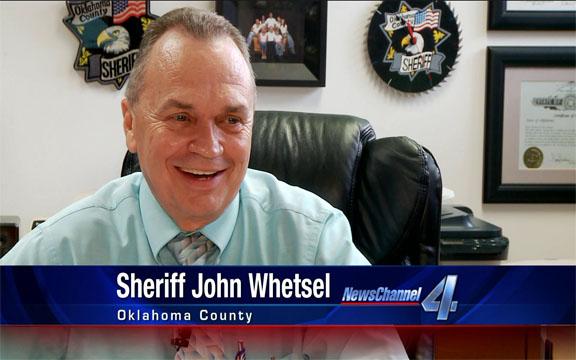 Oklahoma County Sheriff John Whetsel