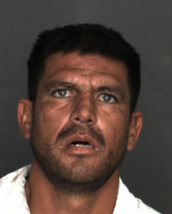 Edgar Valdez is shown in a booking photo released by San Bernardino police on May 17, 2016.