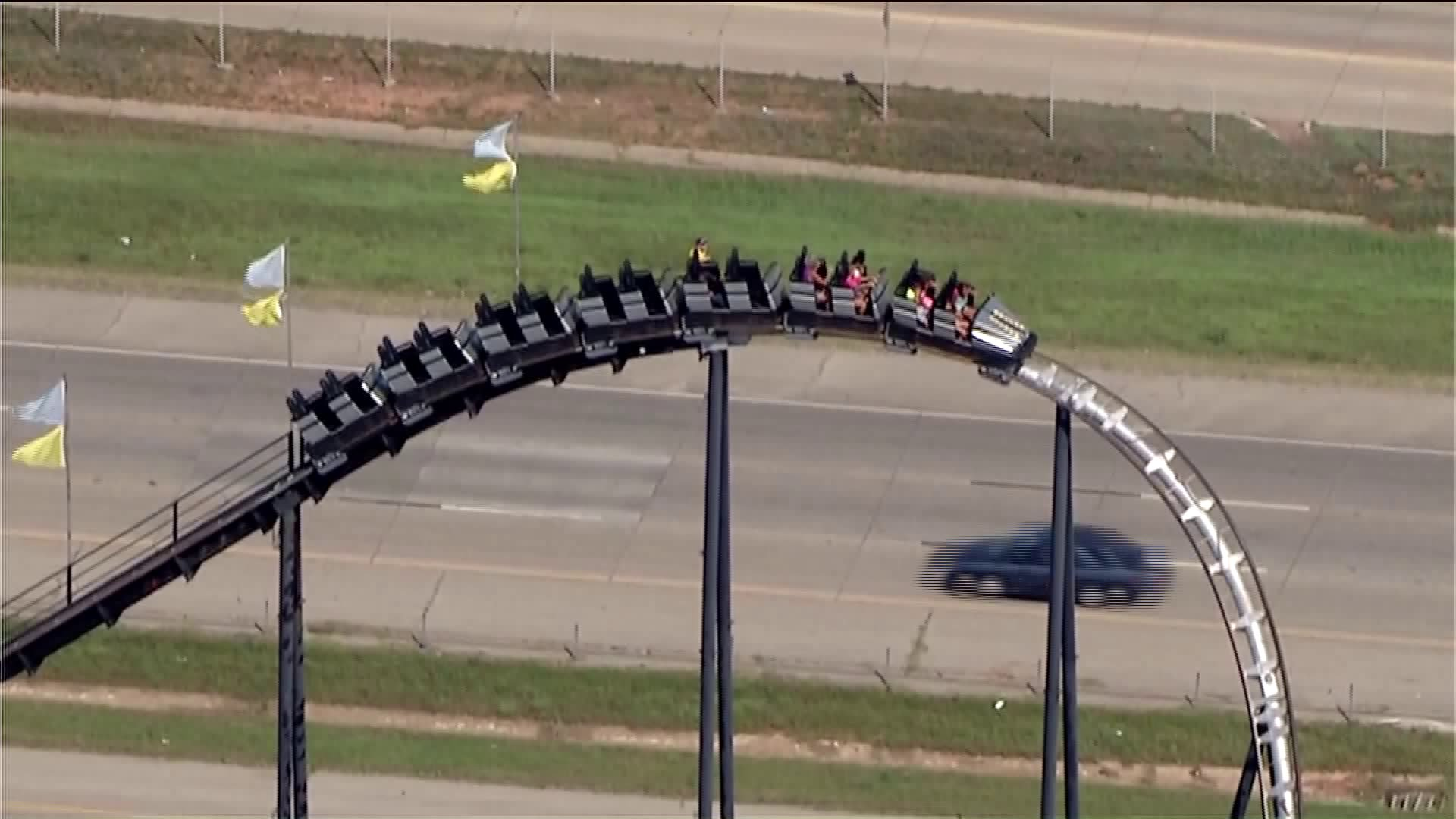 Passengers trapped on the Silver Bullet