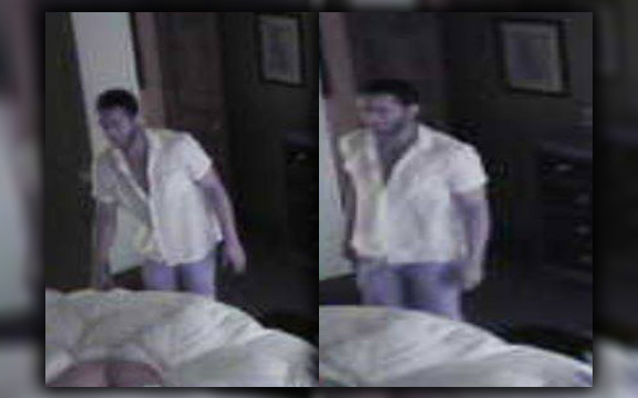 Man allegedly broke into home while homeowner was sleeping