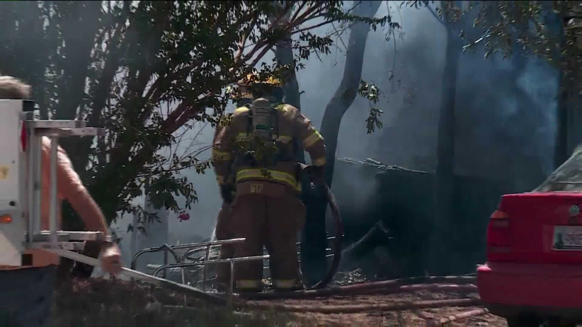 spencer house fire
