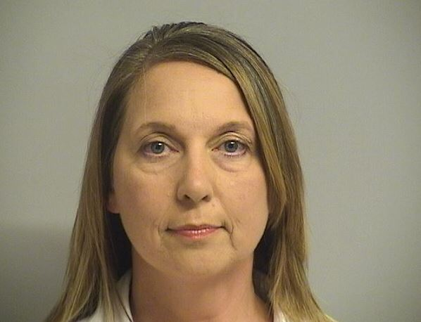 Tulsa Police Officer Betty Shelby booking photo, September 23, 2016