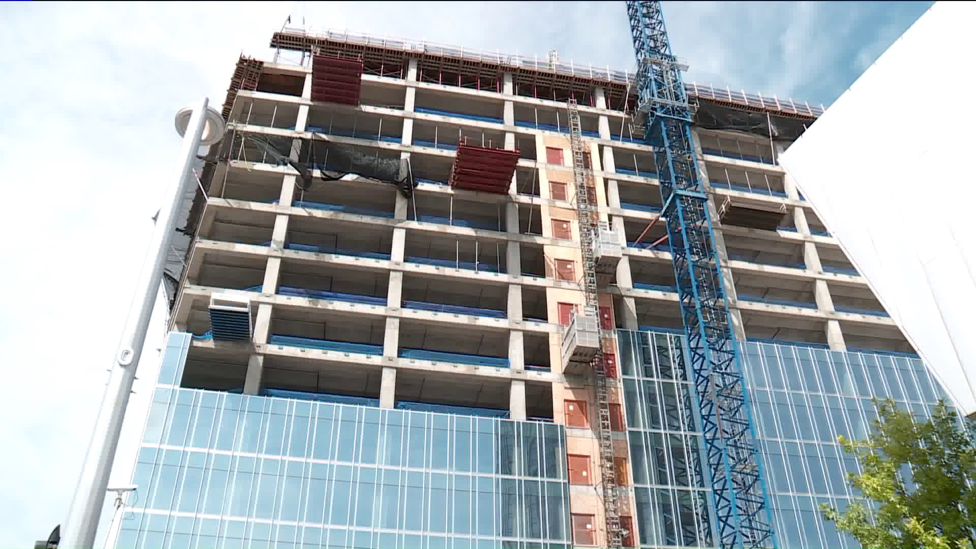 Construction worker dies after scissor lift falls 14 stories