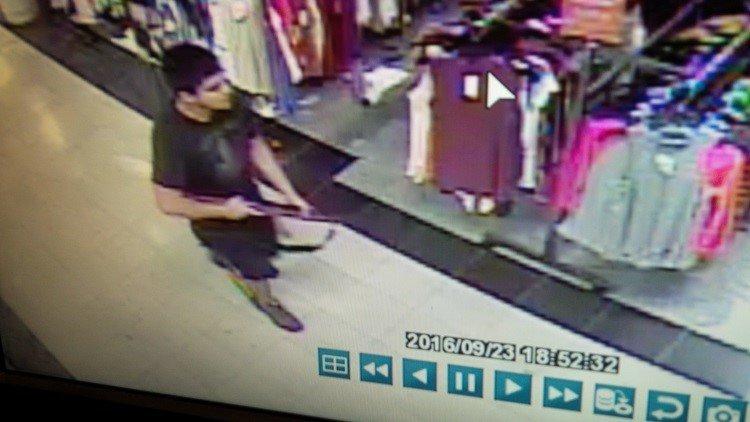 WA/ Camera Surveillance Photos of Suspected Mall Shooter, Credit:Burlington Police Department