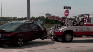 Multiple car wreck near I-40 and MLK Blvd.