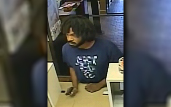 Authorities believe this man robbed a local bank.