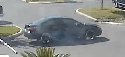 San Antonio police released this image of the suspect's car.