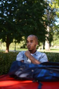 Abdul Razak Ali Artan, suspect in the Ohio State University attack rammed his car into a group of pedestrians before using a butcher knife to cut several people, university officials said. Credit:The Lantern/Kevin Stankiewicz