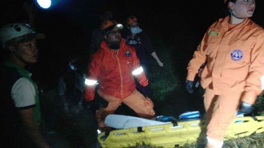 Seventy-six people are confirmed dead following a plane crash outside Medellin, Colombia. Credit: Cablenoticias