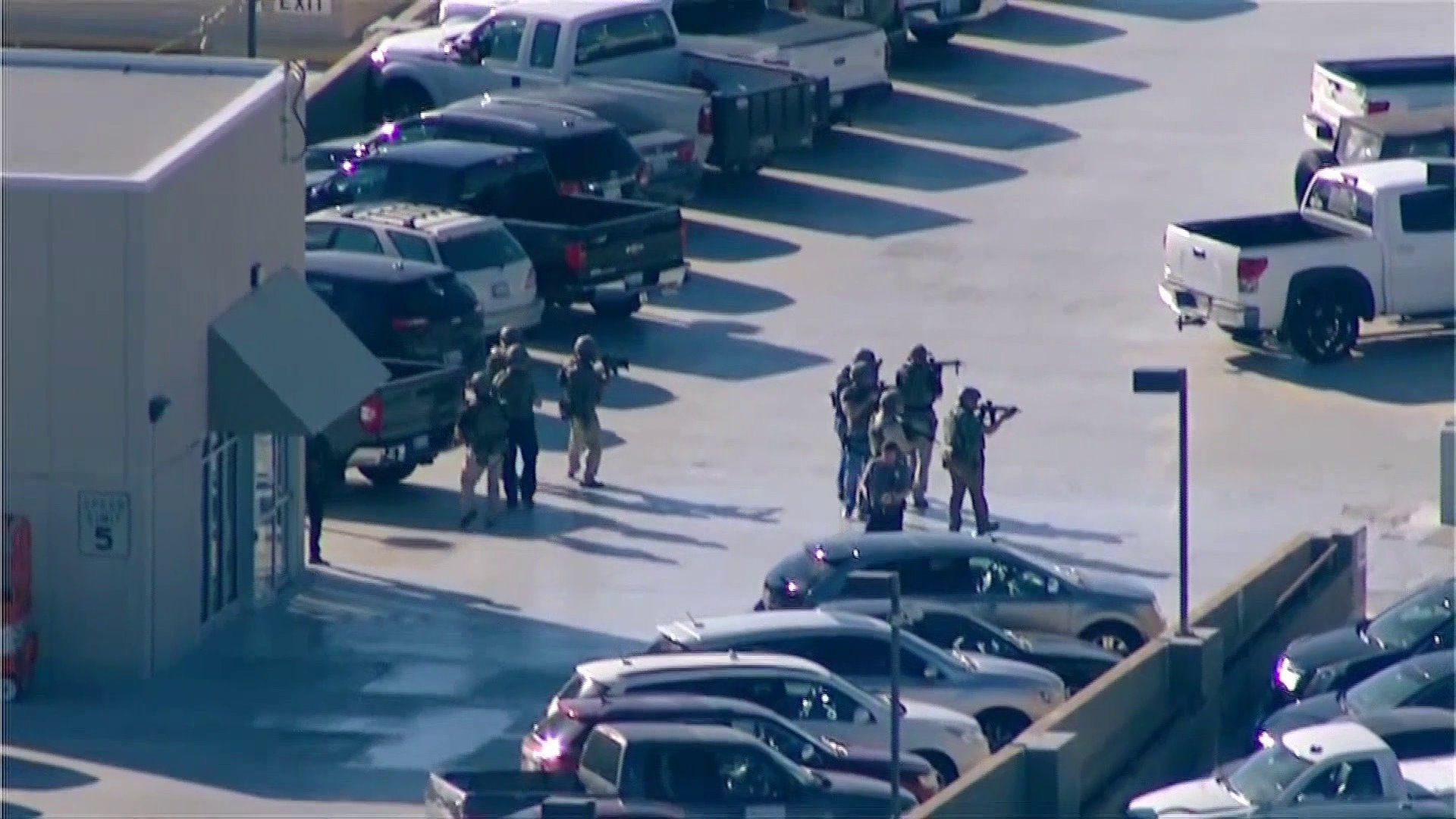 Officers searching parking garage for airport shooter
