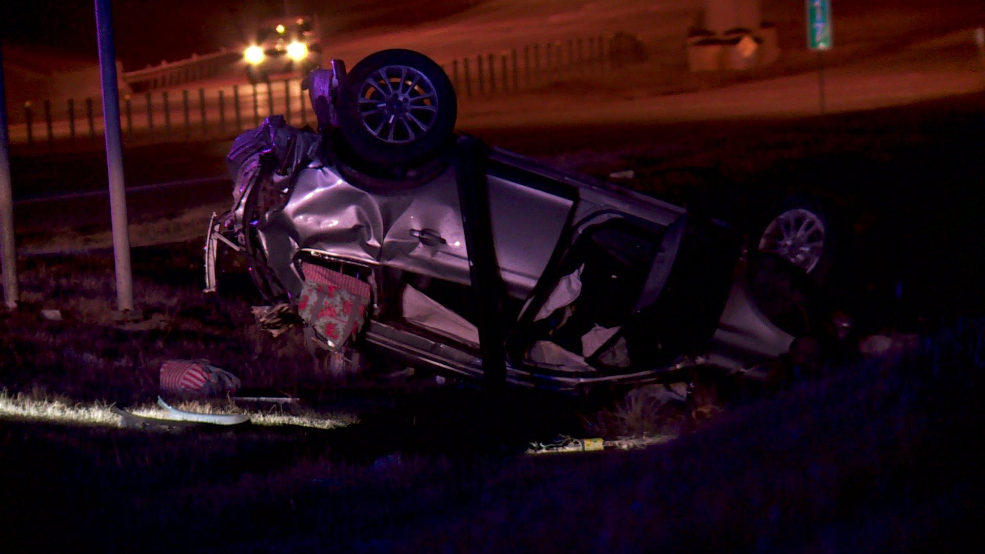 Amanda Carson was pronounced dead following a crash on the Kilpatrick Turnpike.