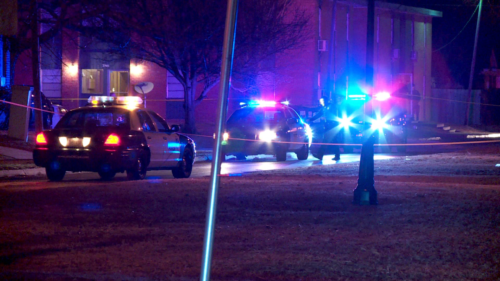 Man found shot to death inside vehicle near N.W. 18th and Youngs Blvd.